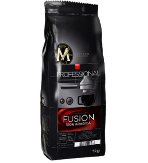 MELNA PROFESSIONAL FUSION COFFEE BEANS 1KG, ZIARNISTA