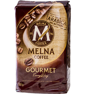 MELNA GOURMET GROUND COFFEE 500G, MIELONA
